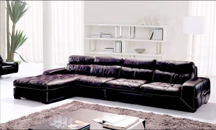 Online Get Cheap Designer Leather Lounges Aliexpress Pertaining To Leather Lounge Sofas (#13 of 15)