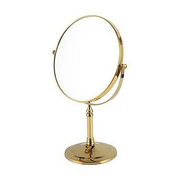 Online Get Cheap Gold Makeup Mirror Aliexpress | Alibaba Group With Regard To Gold Table Mirrors (View 6 of 20)