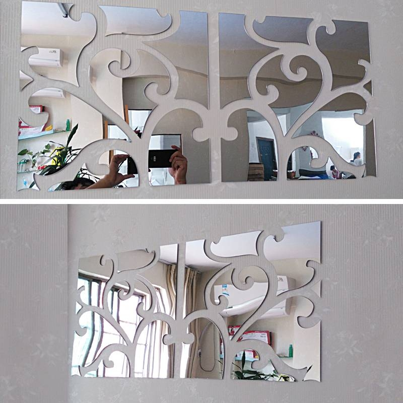 Online Get Cheap Large Modern Wall Mirrors  Aliexpress With Regard To Large Modern Mirrors (#20 of 20)