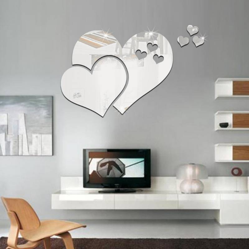Online Get Cheap Shaped Wall Mirrors  Aliexpress | Alibaba Group With Regard To Heart Shaped Mirrors For Wall (#16 of 20)