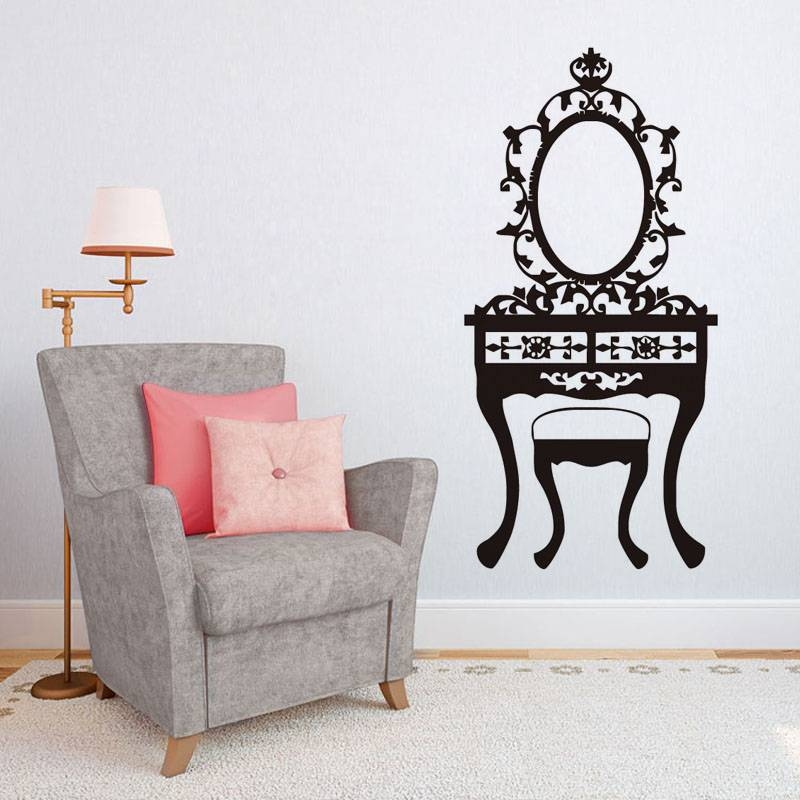 Affordable Retro Furniture: 30 Inspirations Of Cheap Vintage Style Mirrors