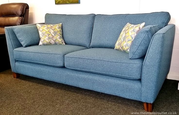Only 899 Beautiful Quality Teal Martina 3 Seater Sofa In 3 Seater Sofas For Sale (#12 of 15)