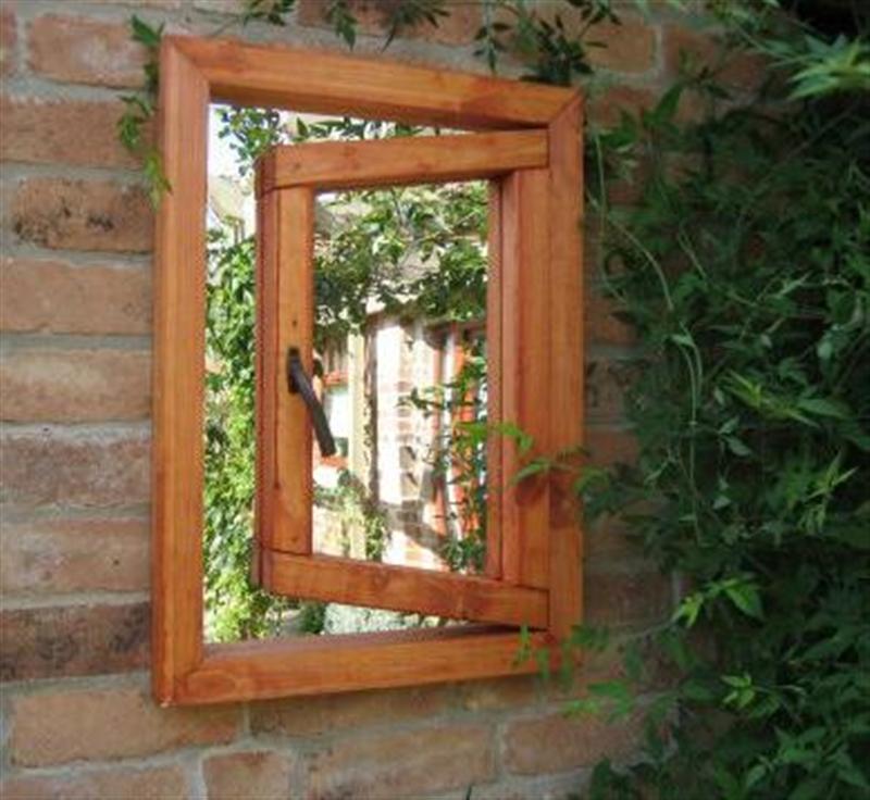 Open Small Window Illusion Garden Mirror   Garden Mirrors, Outdoor For Garden Mirrors (View 17 of 30)