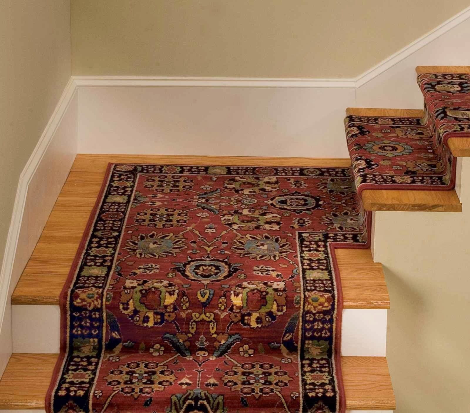 Oriental Carpet Stair Treads Best Carpet Stair Treads Ideas For Indoor Stair Treads Carpet (#15 of 20)