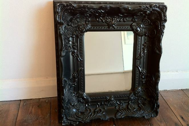 Ornate Black Mirror | Inovodecor Inside Black Ornate Mirrors (#27 of 30)