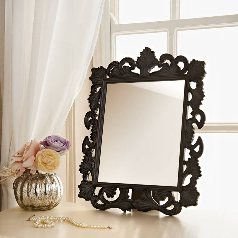 Ornate Dressing Table Mirror | Ornate Cheap Mirrors For Dressing Table Mirrors (View 16 of 20)