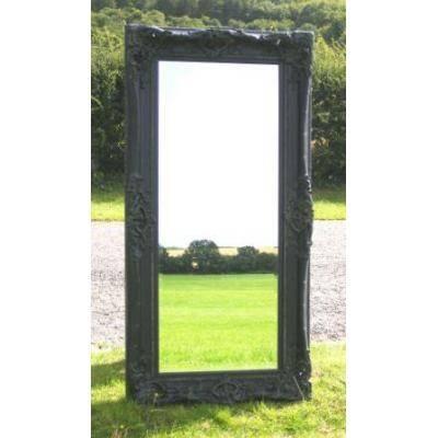 Ornate Full Length Silver Monaco Mirror  Ayers & Graces Online Intended For Full Length Ornate Mirrors (#19 of 30)