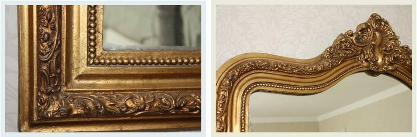 Popular Photo of Ornate Gilt Mirrors