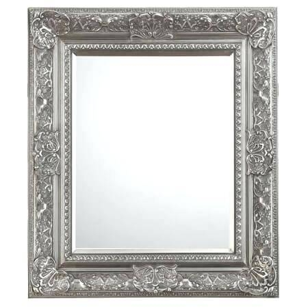 Ornate Illusions Mirrorornate Wood Framed Mirrors Gold Mirror With Regard To Large Ornate Silver Mirrors (View 9 of 20)