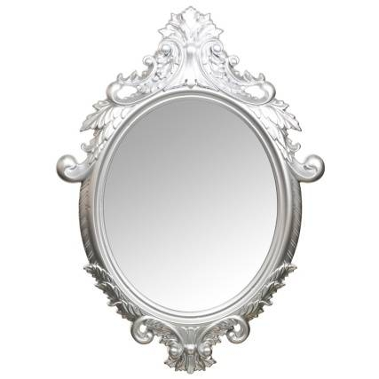 Ornate Oval Mirror Was £ (View 8 of 20)
