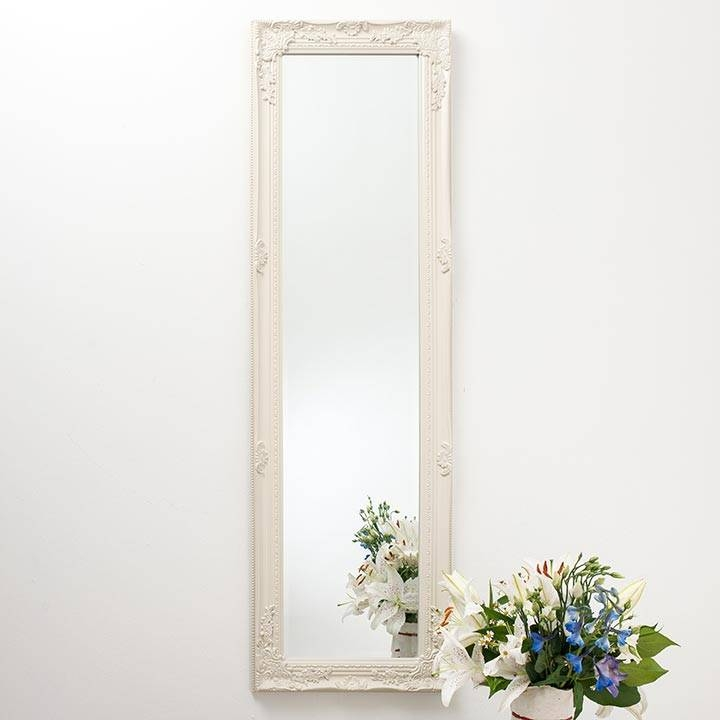 Ornate Vintage Silver Pewter Mirror Full Length | Hand Crafted Mirrors Regarding Pewter Ornate Mirrors (View 27 of 30)