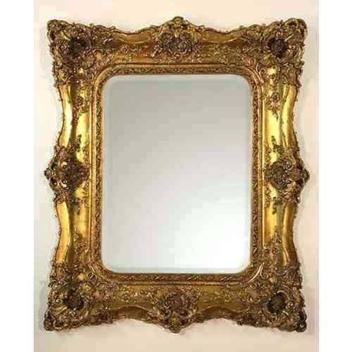 Ornate White Mirror French Providential Decorative Wall With Ornate Silver Mirrors (View 18 of 20)