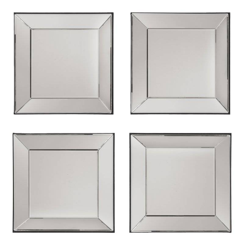 Osp Designs Decorative Square Wall Mirror & Reviews | Wayfair Throughout Square Wall Mirrors (View 3 of 20)