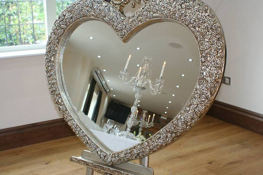 Other Hire Items – Keith Woods Wedding & Events With Large Heart Mirrors (View 13 of 15)