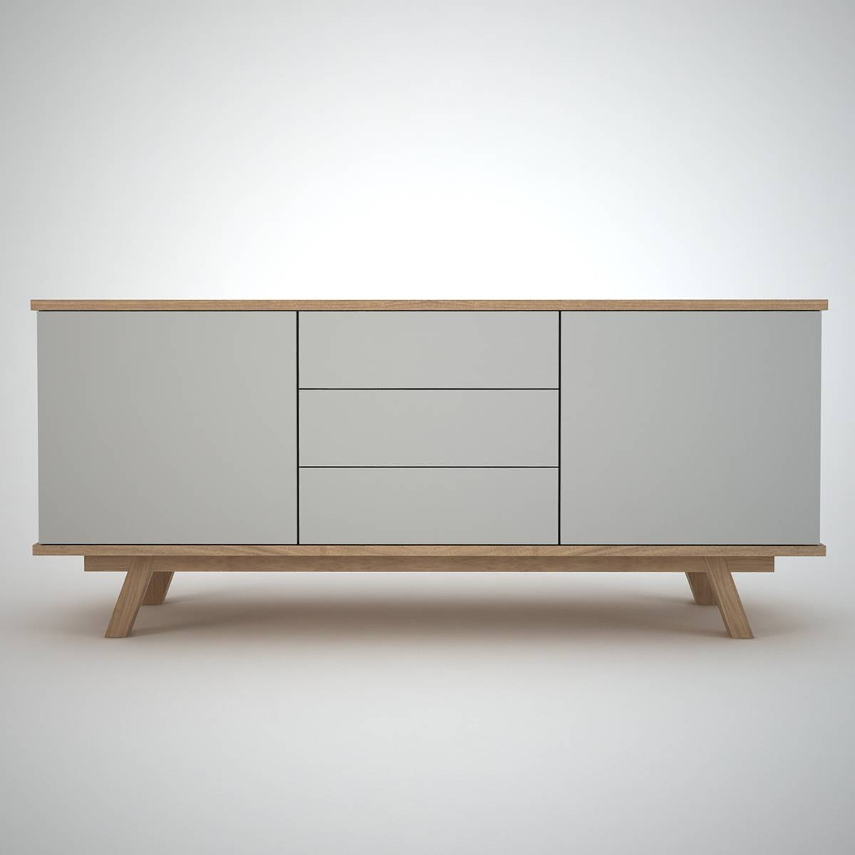 Ottawa Sideboard (2+3) Clay – Join Furniture Throughout Contemporary Sideboards (#13 of 20)