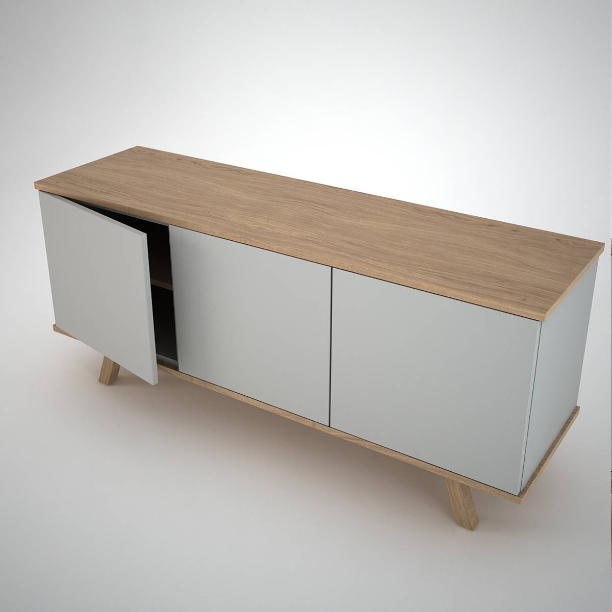 Ottawa Sideboard (3) Clay – Join Furniture Intended For Sideboards Contemporary (View 19 of 20)