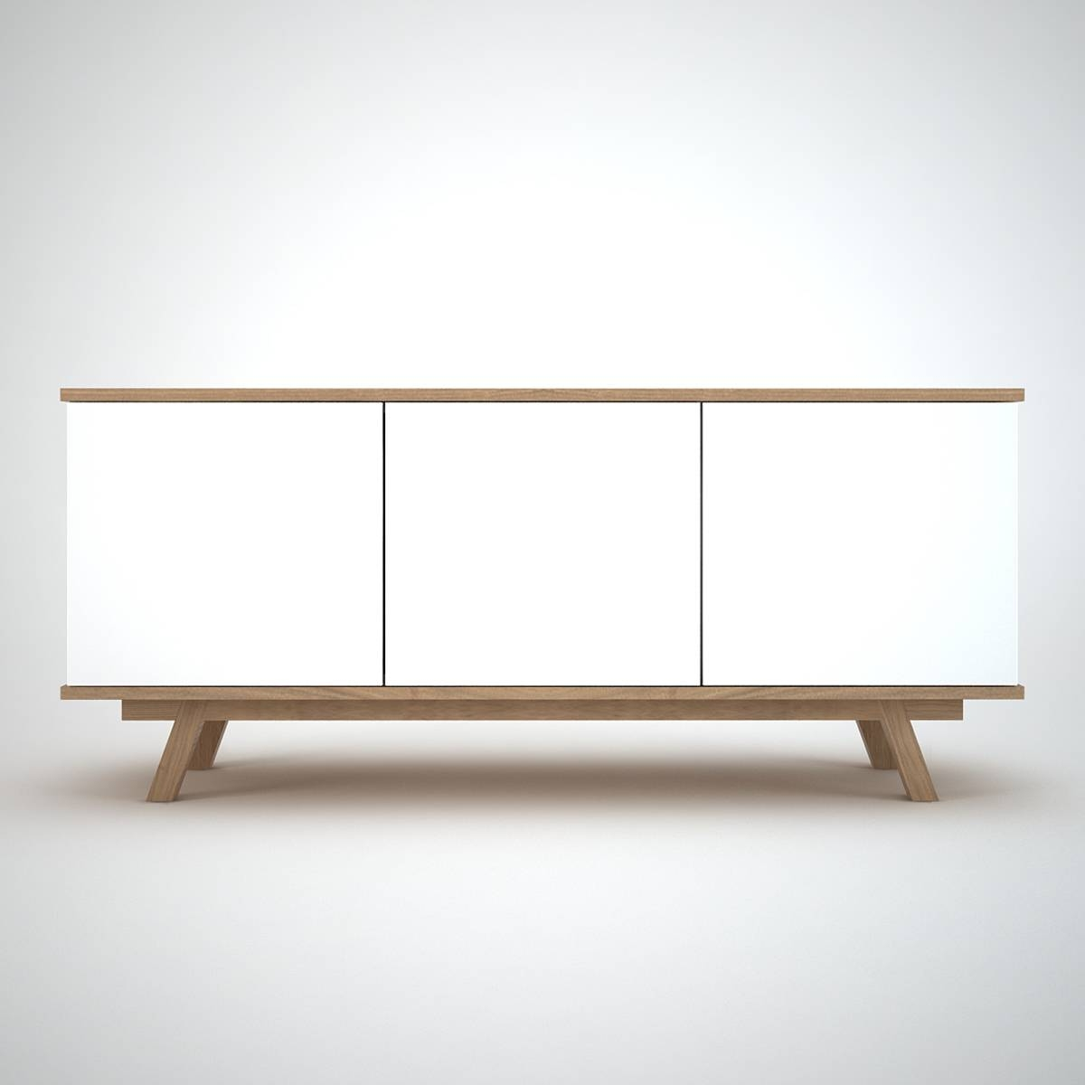 Ottawa Sideboard (3) White – Join Furniture With Regard To White Sideboard Modern (View 4 of 20)