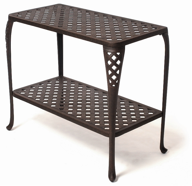 Outdoor Console Tables For Style And Storage Carehomedecor Inside Patio Sofa Tables (#13 of 15)