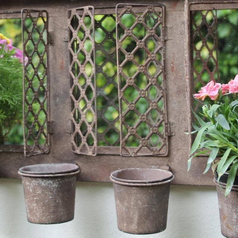 Outdoor Garden Wall Mirrors (#22 of 30)