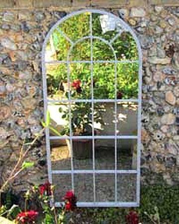 Outdoor Garden Wall Mirrors (#17 of 20)
