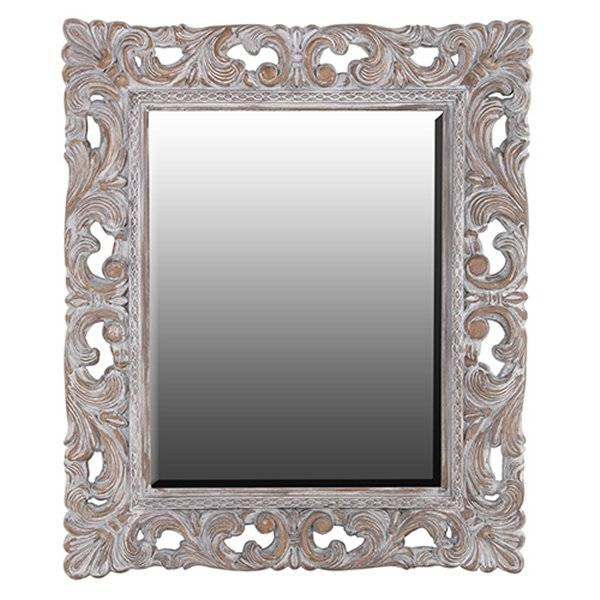 Outlandish Large Wall Mirrorsch Furniture For Large Ornate Silver Mirrors (View 19 of 20)