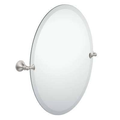Oval – Bathroom Mirrors – Bath – The Home Depot With Regard To White Oval Bathroom Mirrors (#16 of 20)