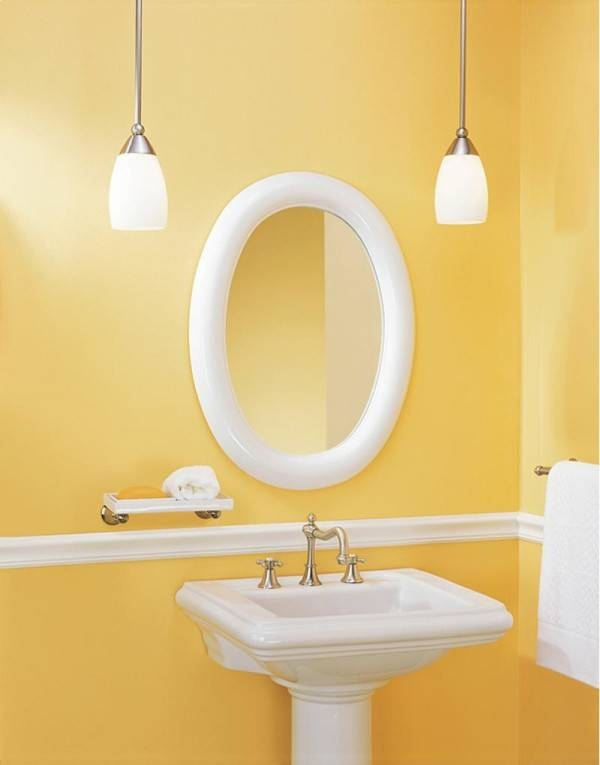 Oval Bathroom Mirrors Oil Rubbed Bronze Andoval Bathroom Mirrors In White Oval Bathroom Mirrors (#19 of 20)