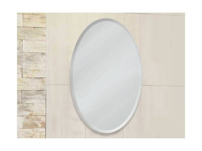 Oval Bevel Mirror | Ctm With Oval Bevelled Mirrors (#21 of 30)