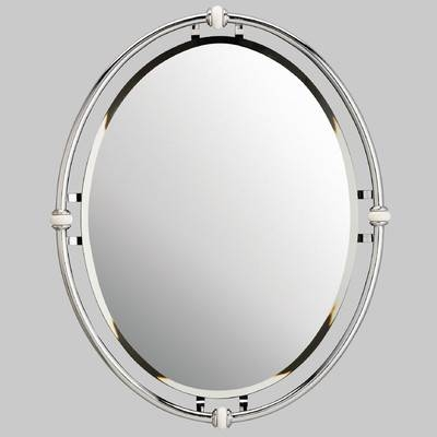 Oval Beveled Bathroom Mirror (#16 of 20)