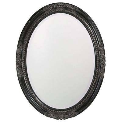 Oval – Black – Mirrors – Wall Decor – The Home Depot With Regard To Oval Black Mirrors (#15 of 20)