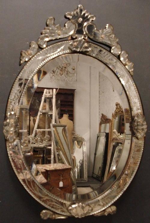 Oval Dressing Table Mirror – Shopwiz With Regard To Venetian Dressing Table Mirrors (#17 of 30)