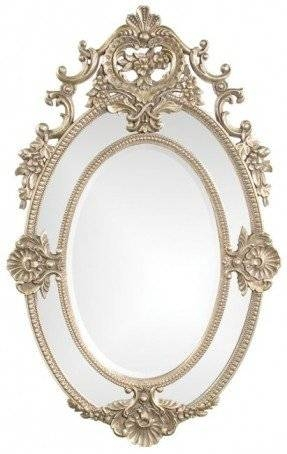 Oval Gold Mirror – Foter With French Oval Mirrors (#26 of 30)