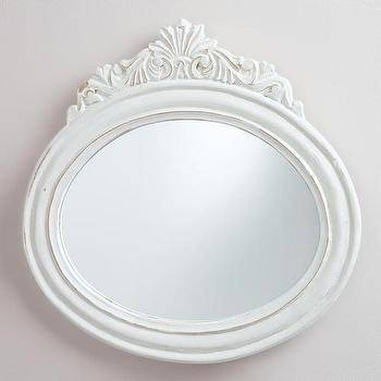 Oval Iron Wall Mirror – Products, Bookmarks, Design, Inspiration Intended For White Oval Wall Mirrors (#21 of 30)