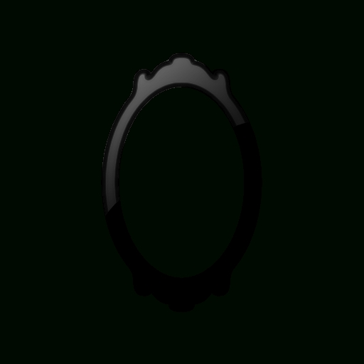 Oval Mirror (Mirrors) Icon #062576 » Icons Etc Pertaining To Oval Black Mirrors (#16 of 20)