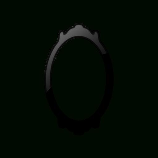 Oval Mirror (Mirrors) Icon #062576 » Icons Etc Regarding Black Oval Mirrors (#26 of 30)