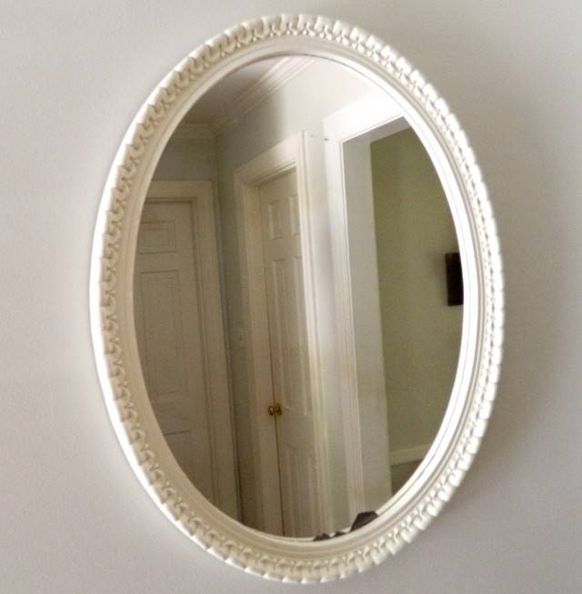 Oval Mirrors Ikea || Vesmaeducation Intended For Oval White Mirrors (#24 of 30)