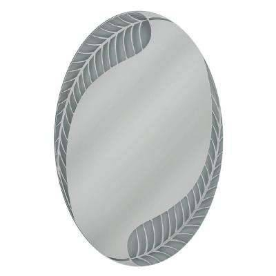 Oval – Mirrors – Wall Decor – The Home Depot Pertaining To White Oval Mirrors (View 15 of 20)