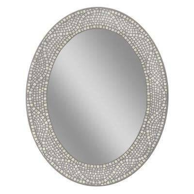 Oval – Mirrors – Wall Decor – The Home Depot Regarding Silver Oval Mirrors (#15 of 20)