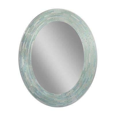 Oval – Mirrors – Wall Decor – The Home Depot Throughout Large Oval Wall Mirrors (#25 of 30)