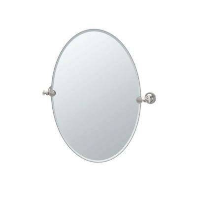 Oval – Mirrors – Wall Decor – The Home Depot Throughout Long Oval Mirrors (#24 of 30)