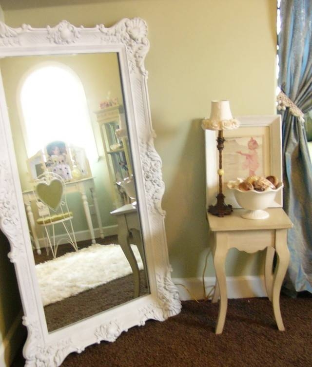 Oval Shabby Chic Mirrors | Home Design Ideas Pertaining To Big Shabby Chic Mirrors (#14 of 15)