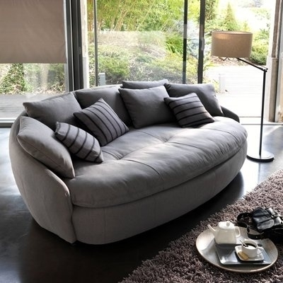 Oval Shape 25 Awesome Couches For Your Living Room Intended Sofas 9