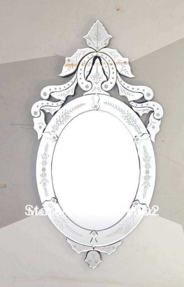 Oval Venetian Mirror Promotion Shop For Promotional Oval Venetian In Venetian Oval Mirrors (View 6 of 15)