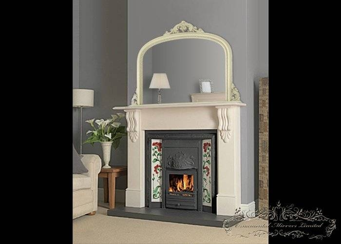 Popular Photo of Mantelpiece Mirrors