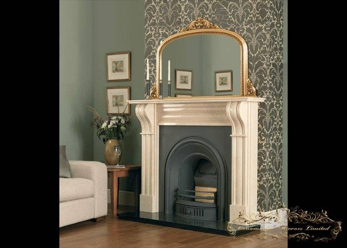 Over Mantle Mirrors, Ornate Mirrors With Regard To Over Mantle Mirrors (#24 of 30)