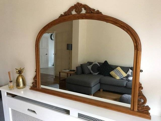 Overmantle Mirror – Local Classifieds, Buy And Sell In The Uk And Inside Wooden Overmantle Mirrors (#26 of 30)