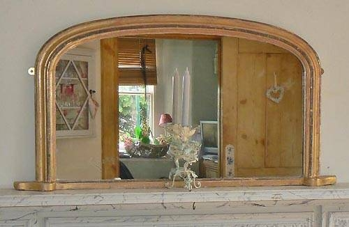Popular Photo of Vintage Overmantle Mirrors