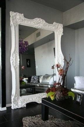 Oversized Leaning Floor Mirror – Foter Pertaining To Large Floor Mirrors (#18 of 20)