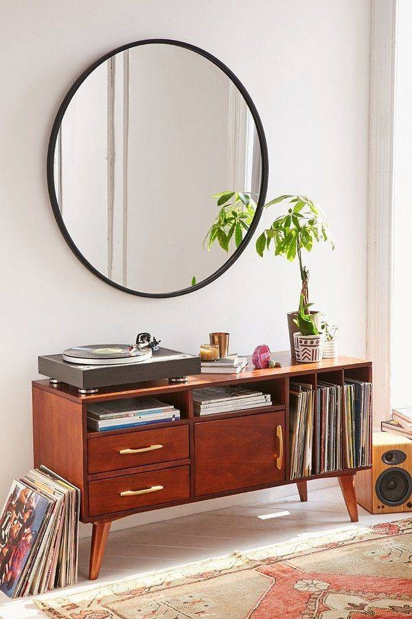 Oversized Round Mirror | Home Decoration Throughout Large Black Round Mirrors (View 16 of 30)
