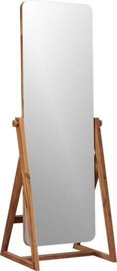 Paige Clear Acrylic Storage Jar   Woods, Bedrooms And Room Inside Modern Free Standing Mirrors (#28 of 30)